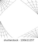 Vector Four Different Spider Webs Designed To Fit In The Corners Of Pages