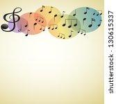 illustration of the musical... | Shutterstock .eps vector #130615337