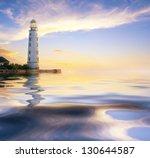 Sea And Lighthouse