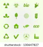 environment vector icons set | Shutterstock .eps vector #130647827