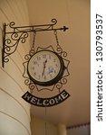 old clock   Shutterstock . vector #130793537