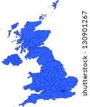editable vector map of great...   Shutterstock .eps vector #130901267