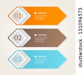 modern options banners. color... | Shutterstock .eps vector #131096573