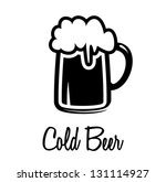 cold beer icon | Shutterstock .eps vector #131114927