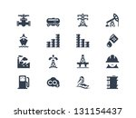 oil industry icons | Shutterstock .eps vector #131154437