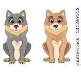 dog | Shutterstock .eps vector #131269253