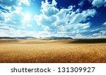 Barley  Hills Tuscany  Italy