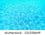 Summer resort water ripple, under a beautiful sunny day. - stock photo