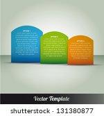 template  vector eps10...   Shutterstock .eps vector #131380877