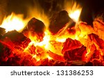 fire coals | Shutterstock . vector #131386253