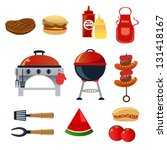 apron,barbecue,barbeque,bbq,burger,charcoals,cheeseburger,chili sauce,clip-art,clipart,coals,cooking,design element,drawing,food