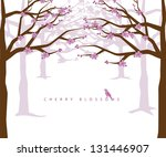 Cherry Blossoms. Eps 8 Vector ...