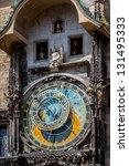 staromestsky orloj ... | Shutterstock . vector #131495333
