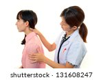 orthopedic surgeon with a... | Shutterstock . vector #131608247