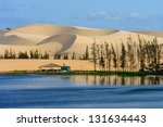 White Sand Dune In Mui Ne ...