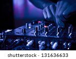 dj music night club | Shutterstock . vector #131636633