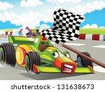the formula race   super car  ...   Shutterstock . vector #131638673