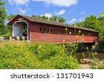 Historic Henry Covered Bridge...