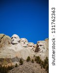 Mount Rushmore Monument In...