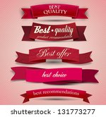 set of superior quality and... | Shutterstock .eps vector #131773277