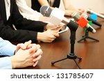 conference meeting microphones | Shutterstock . vector #131785607