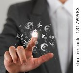 investment concept. pretty... | Shutterstock . vector #131790983