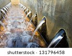 Waste Water Treatment - stock photo
