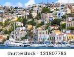 symi island in greece | Shutterstock . vector #131807783