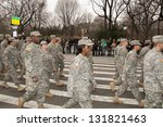 new york  ny   march 17  251st ... | Shutterstock . vector #131821463