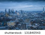 london skyline | Shutterstock . vector #131840543