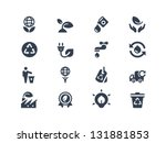 eco icons | Shutterstock .eps vector #131881853