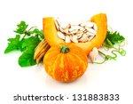 Pumpkin With Pumpkin Seeds...