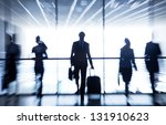 several  silhouettes of... | Shutterstock . vector #131910623