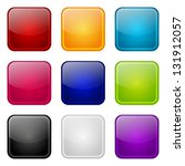 set of apps color icons | Shutterstock .eps vector #131912057