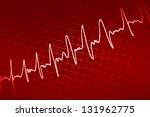 pulsations - stock photo