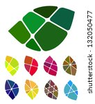 design vector leaf logo element.... | Shutterstock .eps vector #132050477