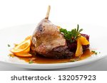 Goose Legs With Cabbage ...