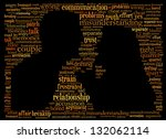 A quarreling couple - stock photo