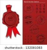 wax shield   money back... | Shutterstock .eps vector #132081083