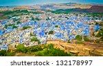 View Of Jodhpur  The Blue City...