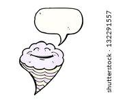 cartoon happy cloud | Shutterstock . vector #132291557