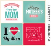 Happy Mothers Day Cards Vintag...