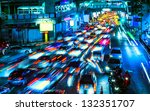 Night Traffic In The City