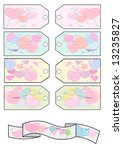 tags hearts | Shutterstock . vector #13235827