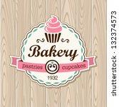 cupcake | Shutterstock .eps vector #132374573