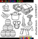 Coloring Book Black And White...
