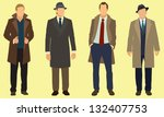 business men | Shutterstock .eps vector #132407753