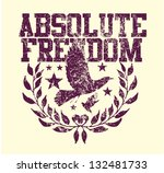 Absolute Freedom Vector Art