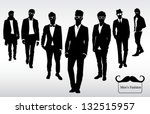 men's fashion | Shutterstock .eps vector #132515957