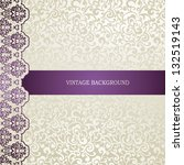 elegant wedding  business ... | Shutterstock .eps vector #132519143